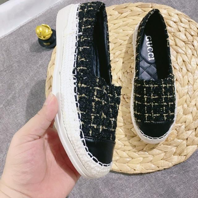 [Xưởng giày VNXK] Giày slip on Dạ trơn nổi bật đế dẻo đi cực sướng chân-Ảnh thật