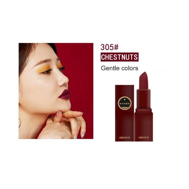 Son Lì Lipstick Kaxier màu #305 CHESTNUTS