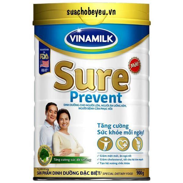 Sữa dành cho người lớn Vinamilk Sure Prevent 900g