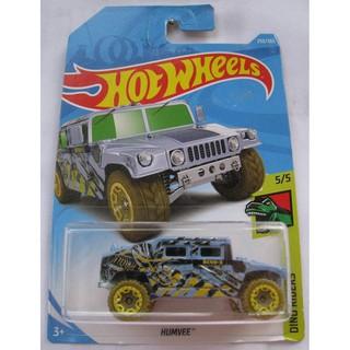 Xe Hot Wheels săn khủng long Humvee FJX16