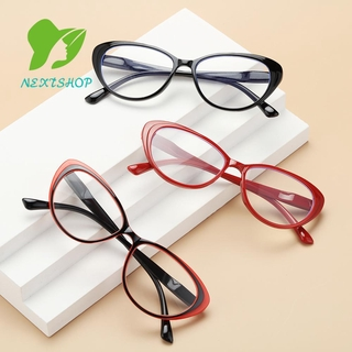 NEXTSHOP Fashion Reading Glasses Women & Men Spring Hinge Presbyopia Eyeglasses Round Floral Frame Ultra-clear Vision Anti Glare Vintage Readers Eyewear/Multicolor