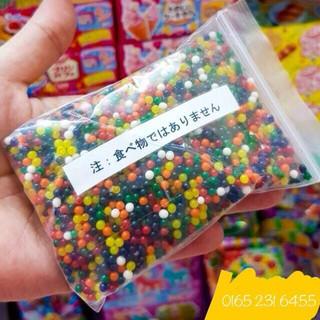 Hạt nở nguyên liệu làm slime gói 100g khoảng 5000 hạt nhỏ (giá giảm rẻ