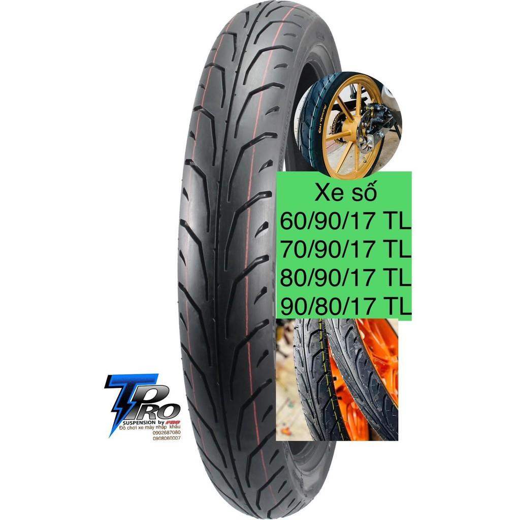 Vỏ lốp xe máy CAMEL dunlop thái 60/90/17 & 70/90/17 & 80/90/17-90/80/17 inches Không dùng ruột_Dochoixemaynhapkhau