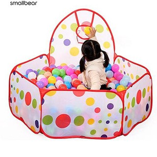 💮🐬Kids Ocean Ball Pit Pool Game Play Hoop Indoor Outdoor Ball Toy Tent