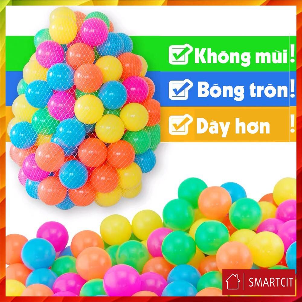 [ Hot 2021 ] Combo 100 quả bóng nhựa mềm 5cm cho bé hàng Việt Nam
