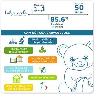 Hình ảnh Sữa tắm gội cho bé Babycoccole 0M+ an toàn cho trẻ sơ sinh & em bé chiết xuất hoa sen 250ml/400ml-6
