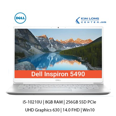 Laptop Dell Inspiron 5490 : i5-10210U | 8GB RAM | 256GB SSD PCIe | UHD Graphics 630 | 14.0 FHD | Win10 | Gold