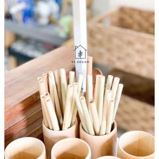 Ống Hút Tre Tự Nhiên (1 Ống) - Bamboo Straws thumbnail