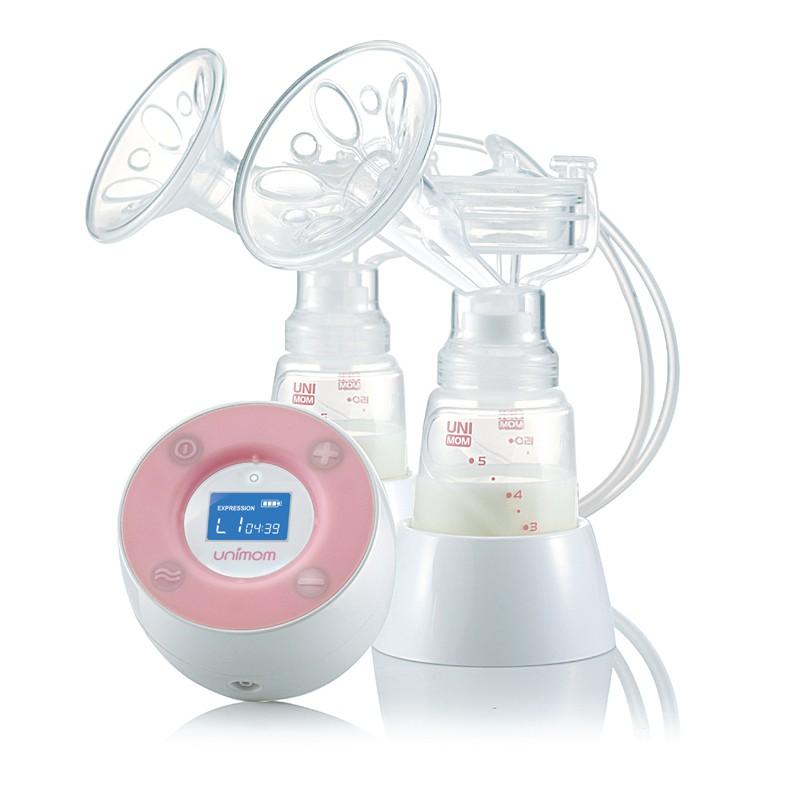 Máy hút sữa điện đôi Minuet Unimom