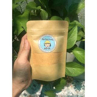 Bột Cà Rốt Nguyên Chất 100% – Gói 50g – (Bột rau củ)