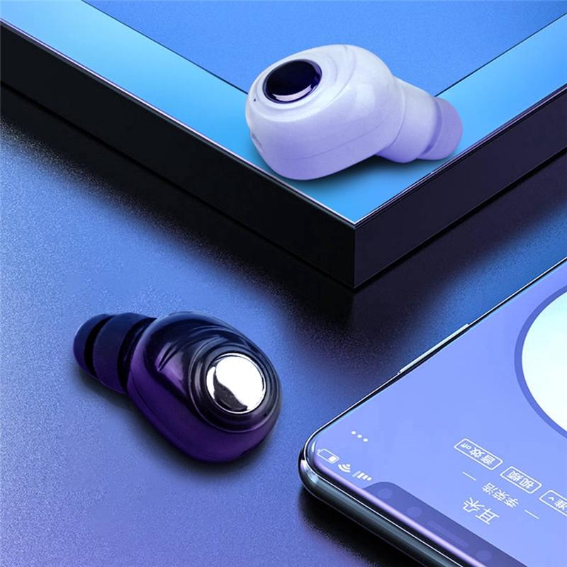 Tai nghe không dây TWS X8 nhét trong kết nối Bluetooth 5.0 âm thanh 3D có mic cho điện thoại Xiaomi Samsung