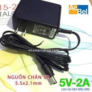 Adapter cục nguồn 5V 2A Acbel chân TO chuyên dùng cho tivi box, adapter đầu thu DVB-T2, sạc pin máy hút sữa …