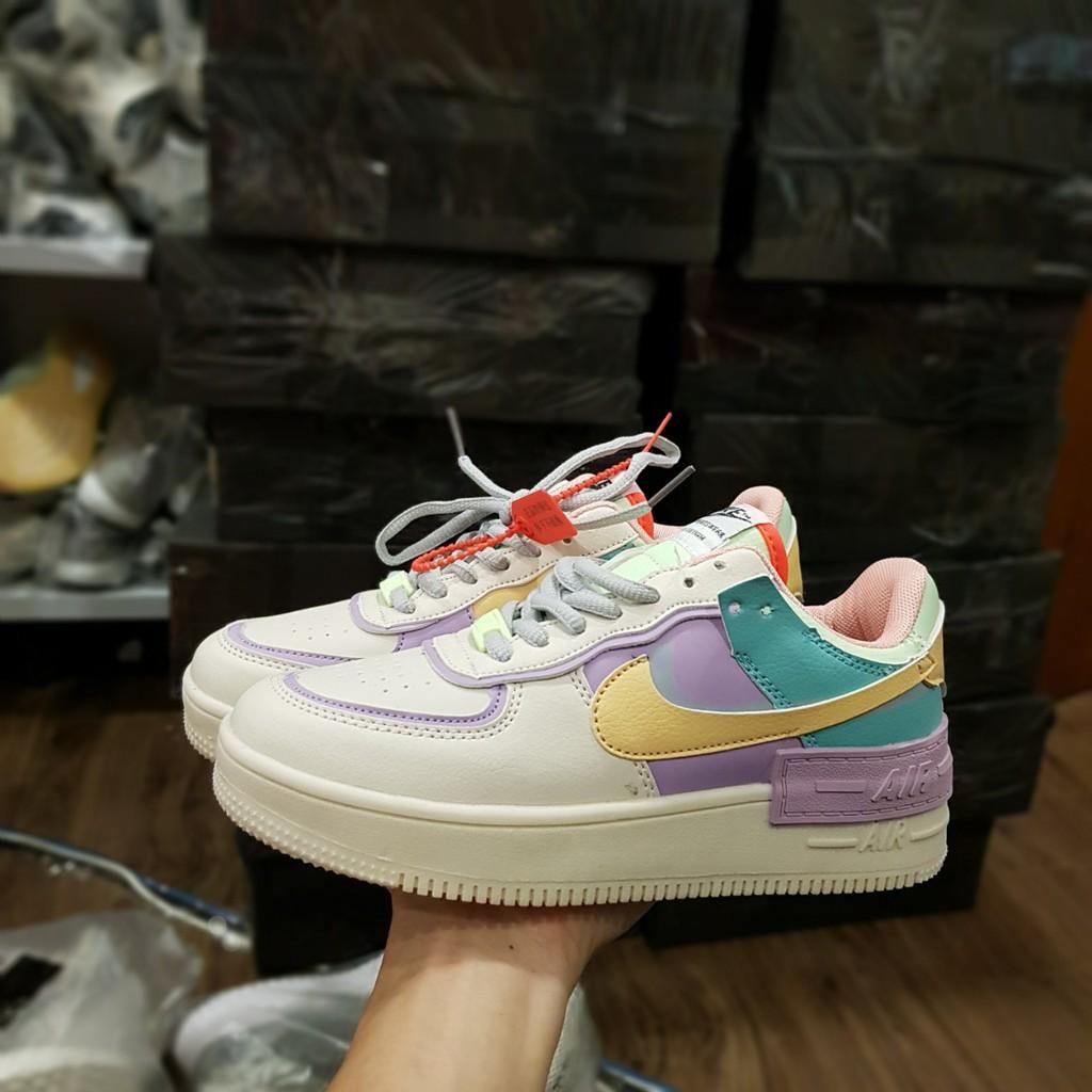 [ Siêu Đẹp ] GIÀY THỂ THAO Sneaker Nữ Airforce 1 Shadows CAO CẤP FULLBOX giày nữ đẹp 2019 giày thể thao đẹp gi