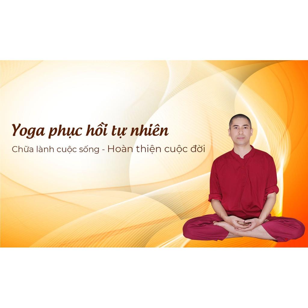 [Voucher-Khóa Học Online] Yoga phục hồi tự nhiên, chữa lành cuộc sống - hoàn thiện cuộc đời - Toàn quốc - HereEast