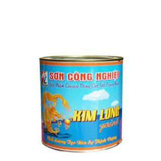 Sơn chuyên dùng cho sắt tráng kẽm Kim Long 1kg, 4kg