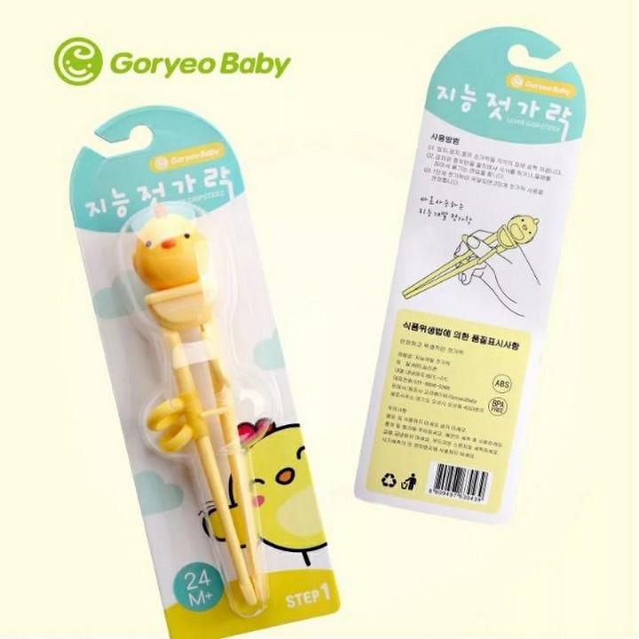 (VIDEO) Bộ thìa dĩa đũa tập ăn dặm cho bé thương hiệu Goryeo Baby Hàn Quốc