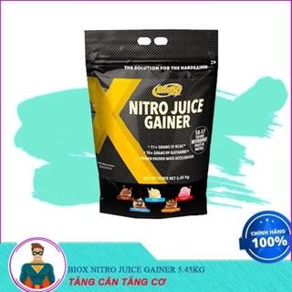 [XẢ KHO] Sữa Dinh Dưỡng Tăng Cân Tăng Cơ BIOX NITRO JUICE GAINER 5.45KG thumbnail