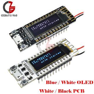 0.91 inch OLED Display ESP8266 Wireless Wifi Deveopment Board CP2104 Micro USB White Black PCB DIY Kits for Arduino NodeMCU