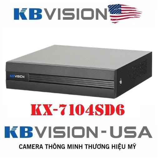 Giảm 50% Đầu ghi hình 4 kênh 5 in 1 KBVISION KX-7104SD6