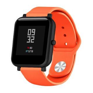 Dây silicone 20mm 22mm thay thế cho đồng hồ đeo tay thông minh Amazfit Bip Tempo