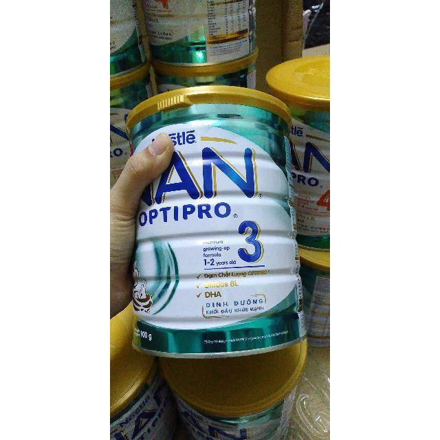 Sữa Nestle Nan Optipro 3 900g date 02/08/2020