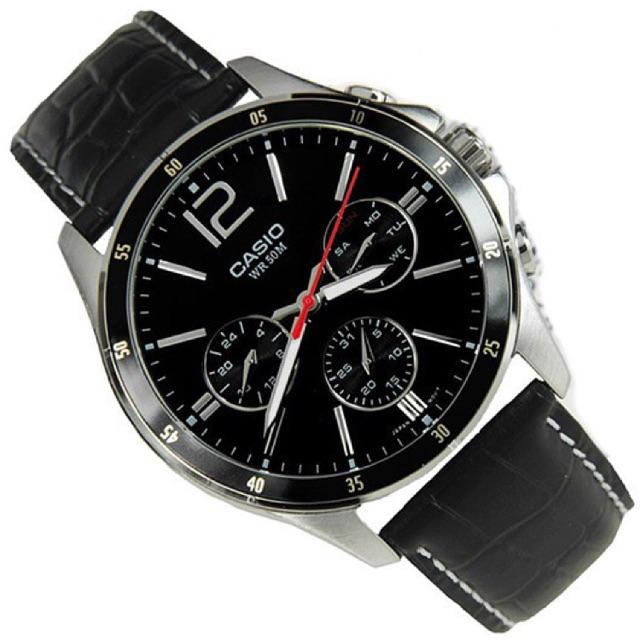 Đồng hồ nam Casio chính hãng MTP-1374L-1AVDF - 2513201 , 568092338 , 322_568092338 , 1863000 , Dong-ho-nam-Casio-chinh-hang-MTP-1374L-1AVDF-322_568092338 , shopee.vn , Đồng hồ nam Casio chính hãng MTP-1374L-1AVDF