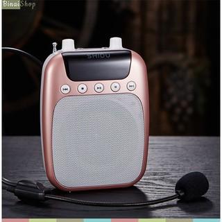 Máy trợ giảng không dây SHIDU SD-S358 (FM) quà tặng mic có dây