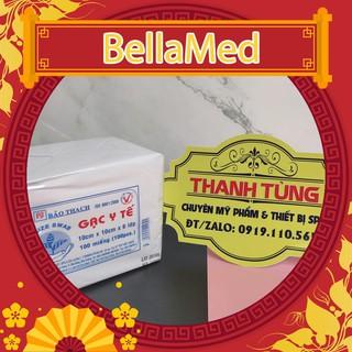 Gạc y tế 10x10x6 lớp Bảo Thạch, gạc đắp mặt nạ thumbnail