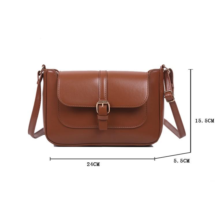Túi đeo chéo nữ ZALI mini cá tính giá rẻ HY001