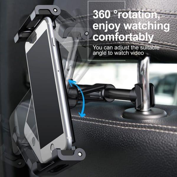 Giá đỡ Baseus Backseat Car Mount gắn ghế sau xe ô tô dành cho máy tính bảng và điện thoại