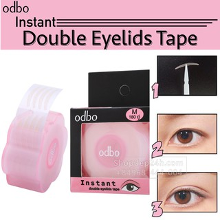 Kích mí lụa dạng lưới sẵn keo Instant Double Eyelids Tape Thái Lan