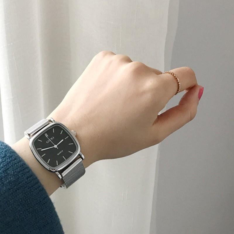 Đồng hồ đeo tay nữ đồng hồ nữ retro nữ sinh viên Hàn Quốc của xu hướng đồng hồ d