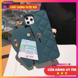 Ốp iphone đẹp ốp ví ip có dây đeo chéo 7plus 8plus 11Promax kèm theo dây đeo thumbnail
