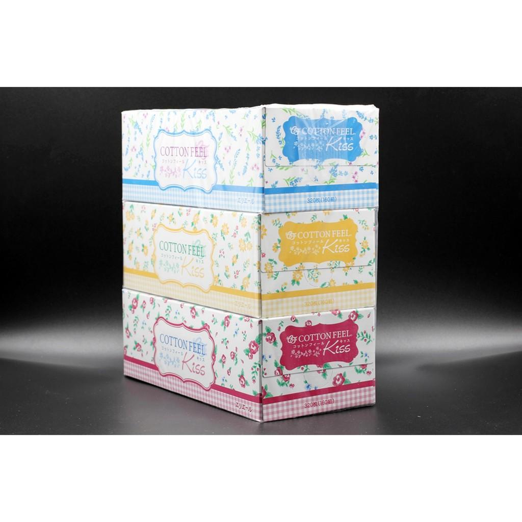 Set 3 hộp giấy ăn cao cấp KISS
