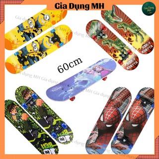 Ván trượt trẻ em gỗ phong 7 lớp dài 60cm full hộp – ván trượt skateboard mini