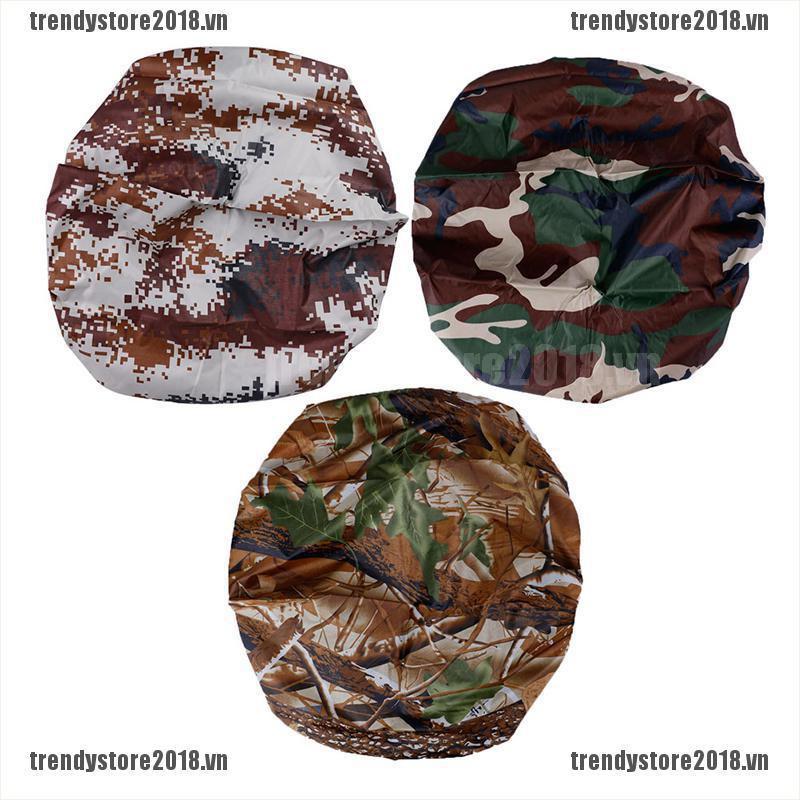 TRENDY 1PC Outdoor Camo Backpack Rain Cover Waterproof Bag Dustproof Rain Protect Bag VN
