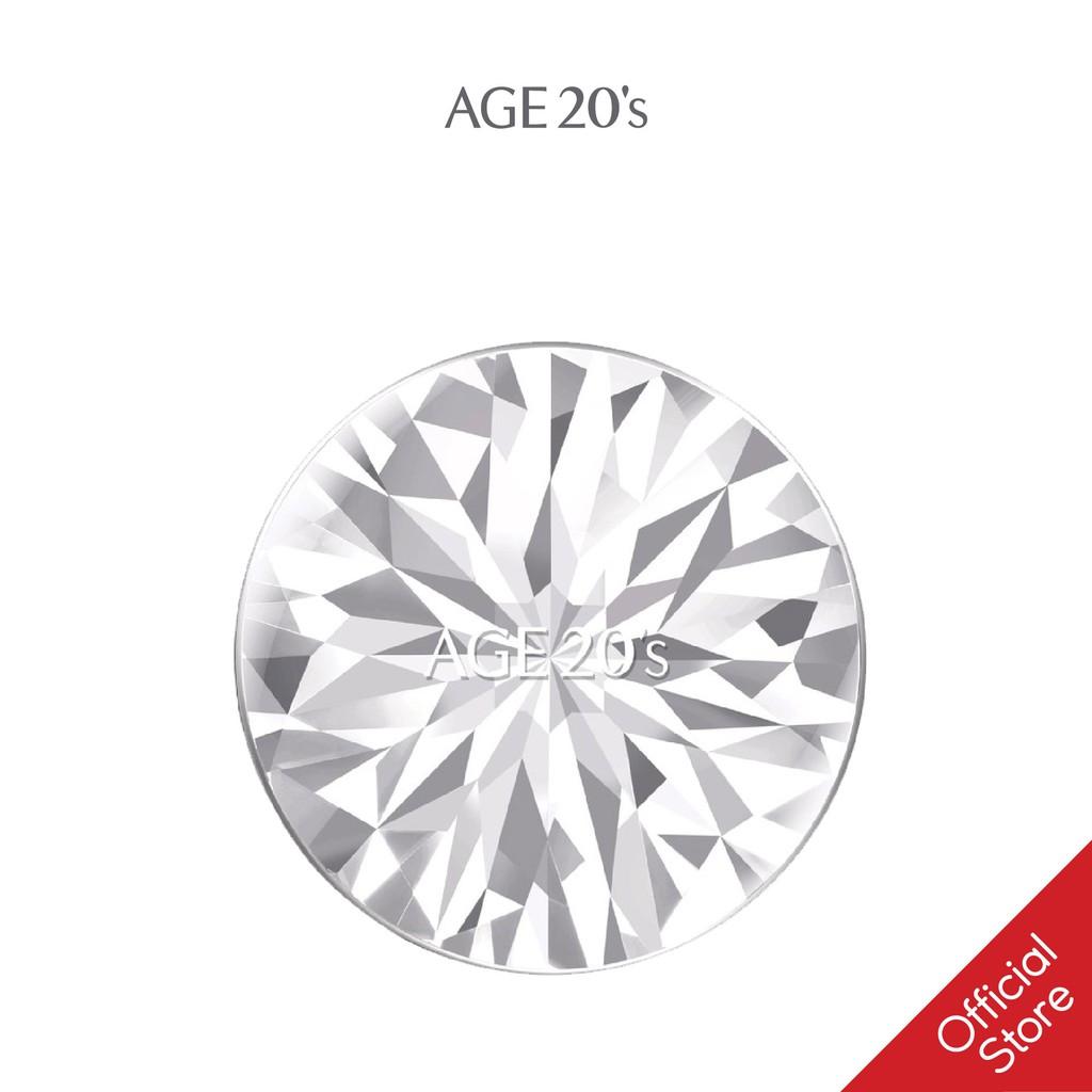 [Mã COSKVIC01- 10% ĐH199K]Phấn Nền Lạnh Kim Cương AGE20's Essence Cover Pact DIAMOND White SPF 50+/PA +++ 12.5g