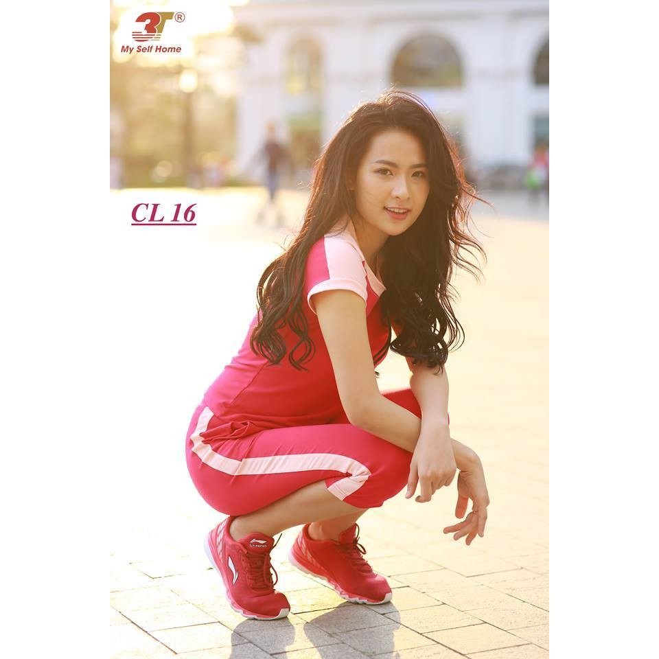 3T My Self Home - Bộ thể thao cotton lửng