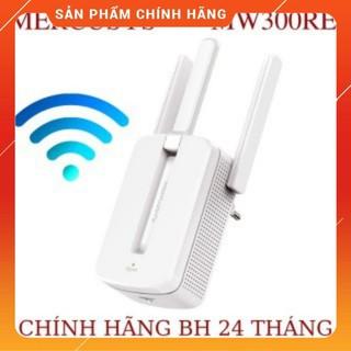 Bộ kích sóng wifi Mercusys MW300re 3 râu cực mạnh,Kich wifi,cục hút wifi,kích sóng wifi thumbnail