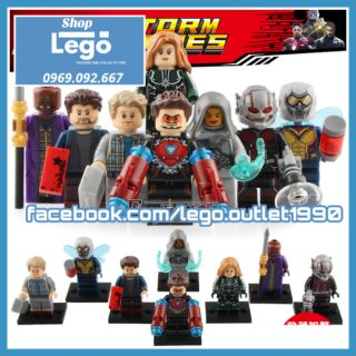 Xếp hình Siêu anh hùng Captain Marvel Zuri Baron Erik Selvig Ant-Man Wasp Iron Man Ghost Lego Minifigures Xinh X0197 thumbnail