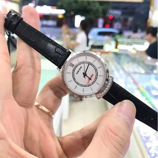 Đồng hồ nữ Neos 40743ALD dây da full hộp thẻ chính hãng, kính sapphire chống xước ch thumbnail