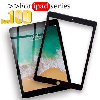 10D Tempered Glass for iPad Series Screen Protector Protective Film