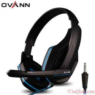 [Mã ELFLASH5 giảm 20K đơn 50K] Tai nghe có mic OVANN X1-S Kết nối 1 Jack 3.5mm (Audio, Mic)