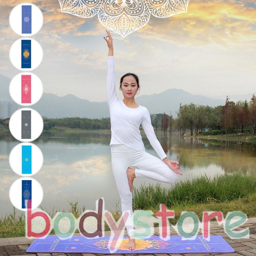 Thảm tập Yoga nhiều màu sắc