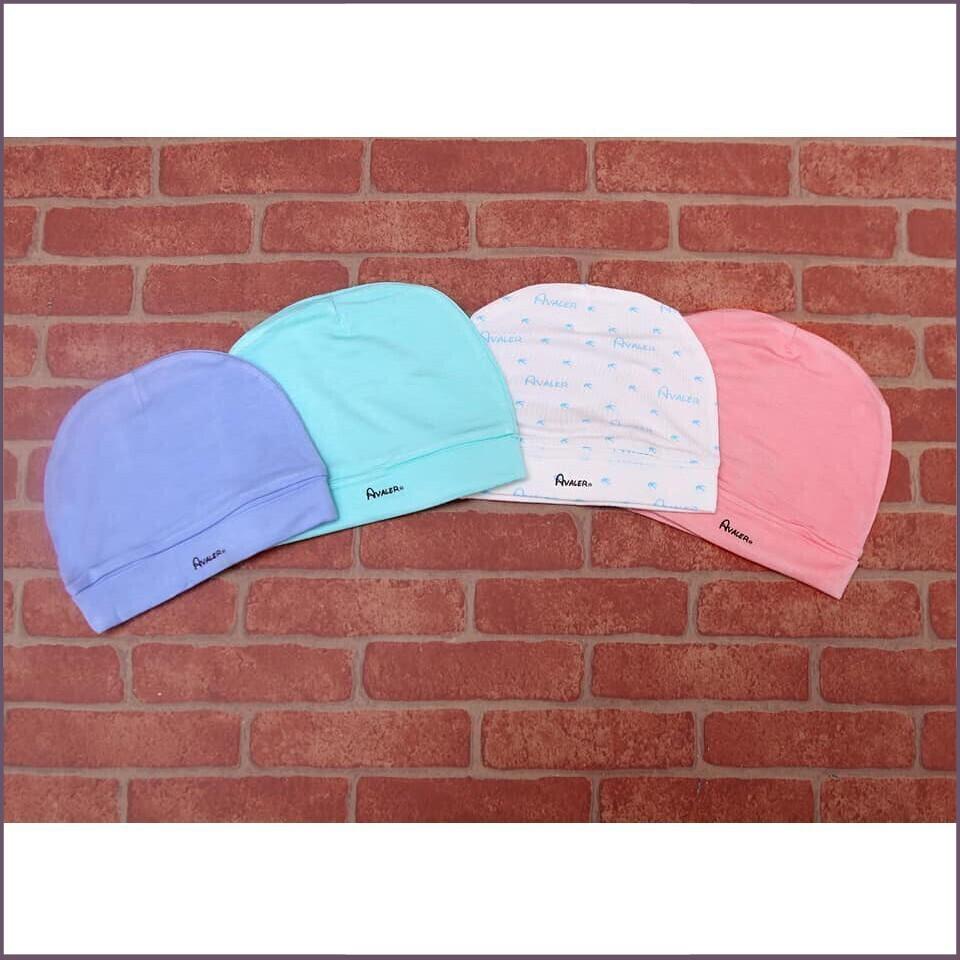 (KM Sốc)Bộ 2 nón sợi tre Avaler cho bé 1-6 tháng tuổi siêu xinh