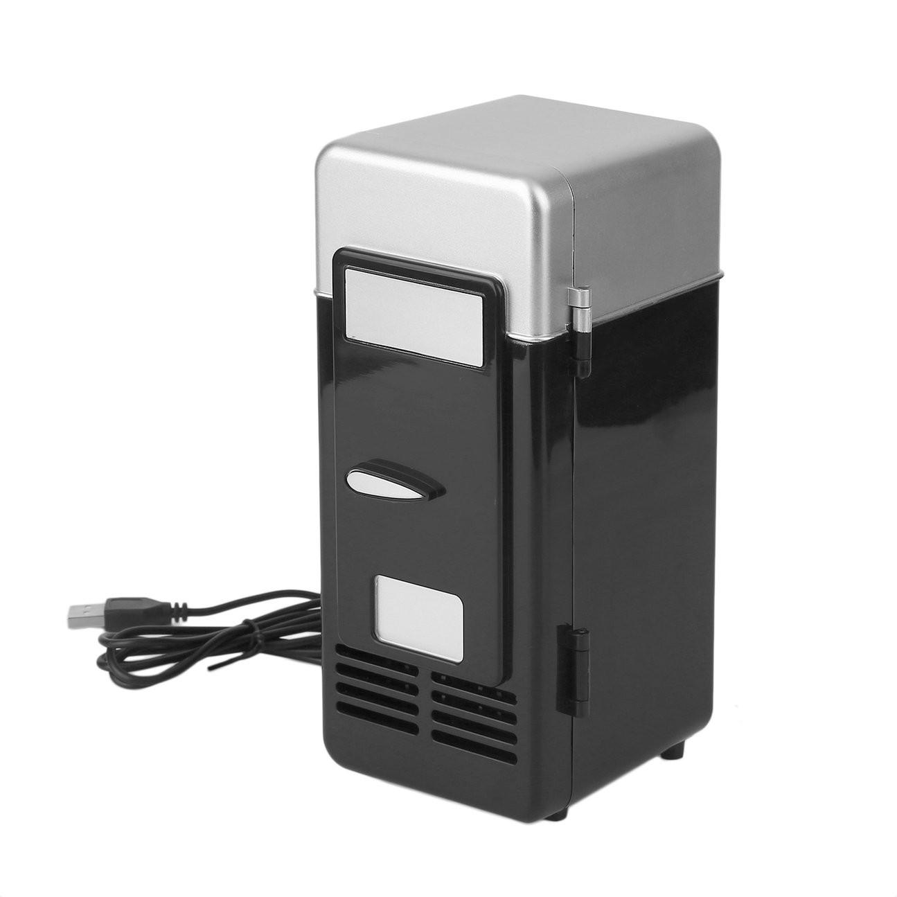 Tủ Lạnh Mini Sạc Usb Mới Cho Xe Hơi / Tàu Thuyền