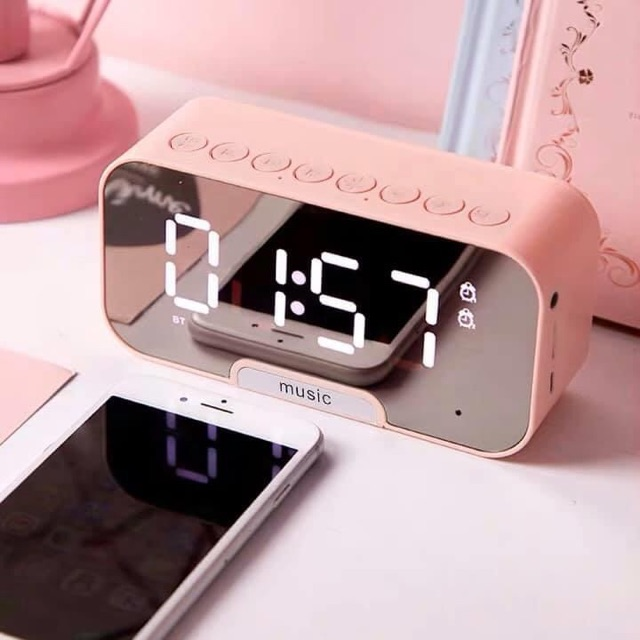Loa Bluetooth Đồng Hồ Led