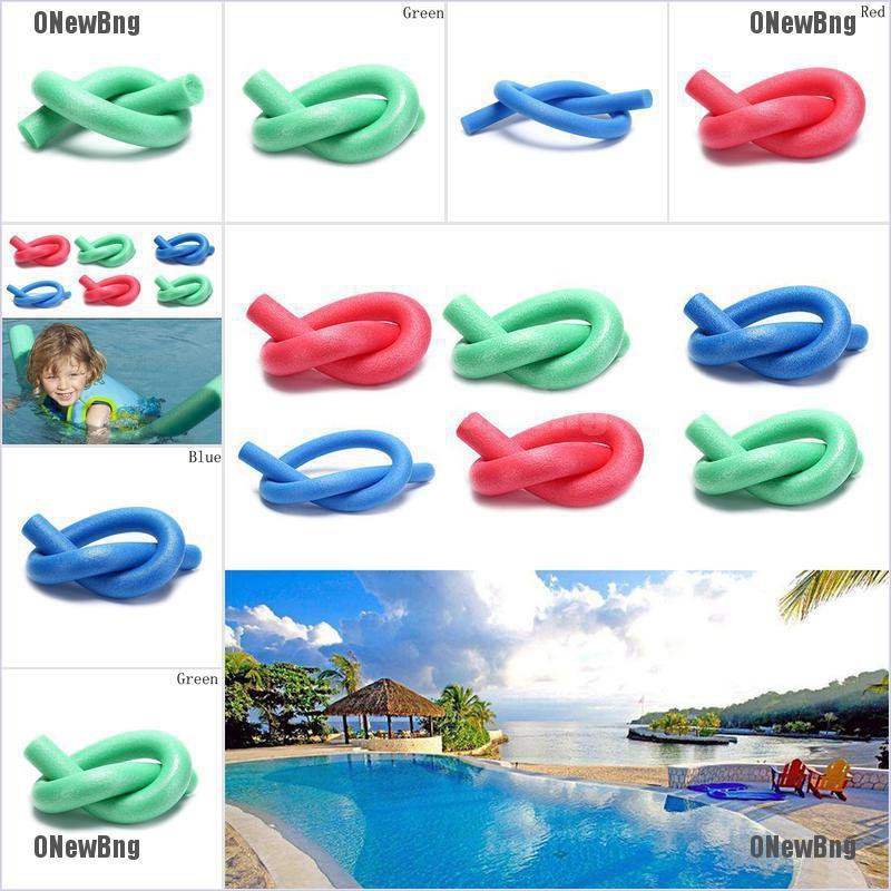 ONewBng✪ 1Pc Swimming Swim Pool Noodle Water Float Aid Foam Float For Children And Adult
