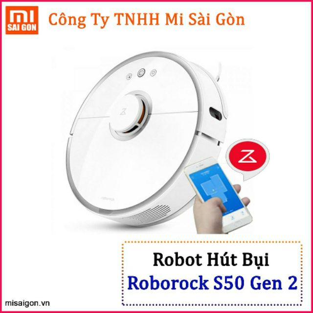 Robot Hút + Lau nhà - Xiaomi Mi Roborock S50,S51,S55 Gen 2