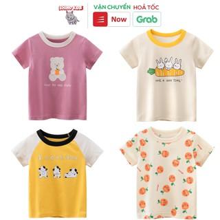 Áo thun bé gái 27Home in hình cute dễ thương chất liệu cotton an toàn cho bé hàng chuẩn xuất Âu Mỹ thumbnail